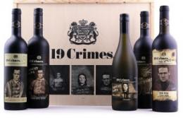 19 Crimes 5 Weine - All in One Holzkiste