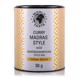 Curry Madras Style - World of Taste