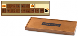 Happy Halloween Chocotelegram Geschenk zu Halloween