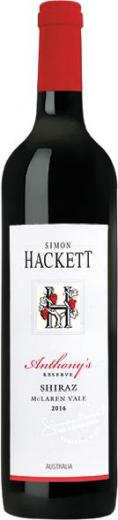 Simon Hackett Anthonys Reserve Shiraz Jg. 2016