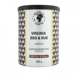 Virginia BBQ Rub, 150 g - World of Taste